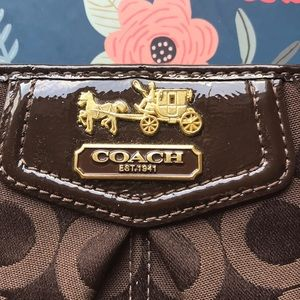 Coach Accessories - Coach signature canvas small wallet